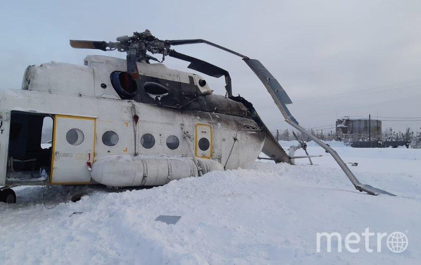 Жёсткая посадка. Фото 24.mchs.gov.ru