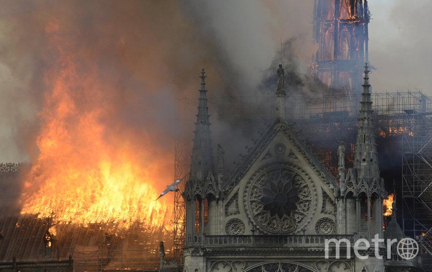 15 апреля мaсштабный пожар испепелил одну из главных достопримечательностей Франции. Фото Getty
