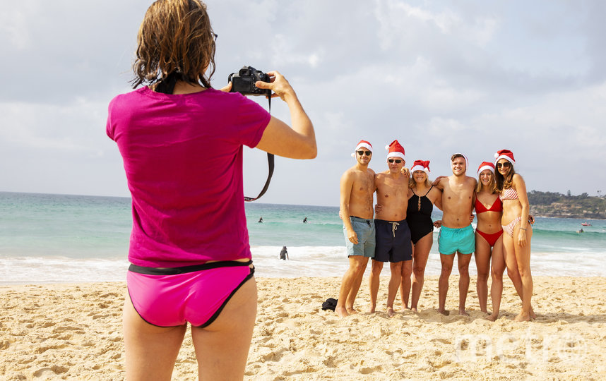 На пляже в Сиднее. Фото Getty