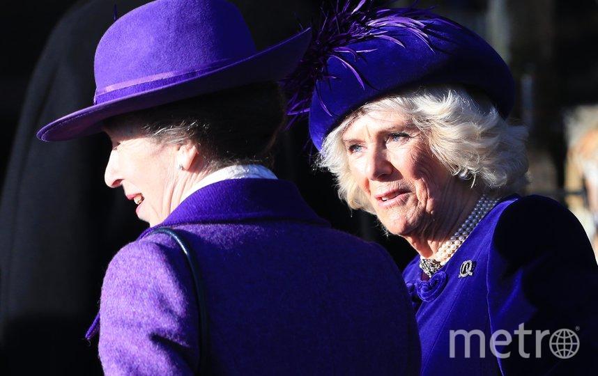 Принцесса Анна и Камилла. Фото Getty