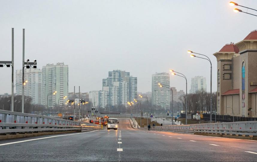 В Москве открыли автомобильный мост через Кожуховский затон. Фото пресс-служба мэра и правительства Москвы, Максим Мишин