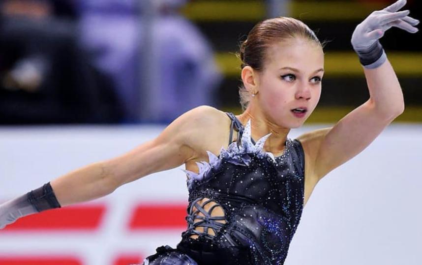 Александра Трусова заявила пять четверных прыжков. Фото Скриншот @avtrusovaforever