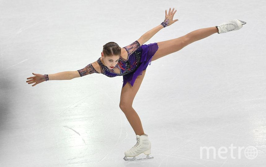 Алёна Косторная. Фото AFP