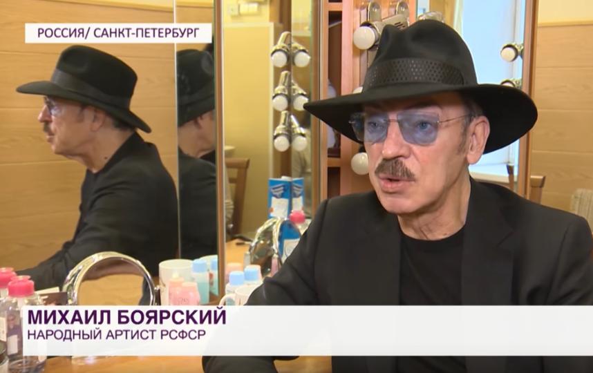 Михаил Боярский сейчас. Фото Скриншот Youtube