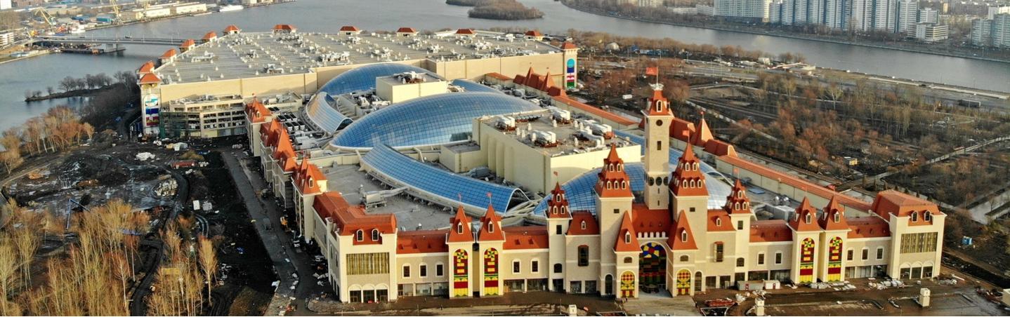 Остров мечты. Фото скриншот stroi.mos.ru