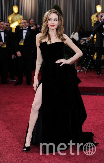 """Анджелина Джоли (""""Оскар"""", 2012). Фото Getty"""