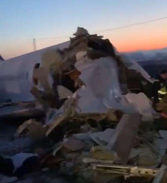 Кадры сюжета о катастрофе. Фото Скриншот Youtube