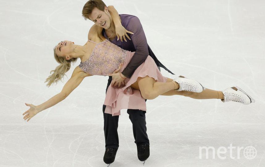 Синицина и Кацалапов выиграли чемпионат России по фигурному катанию. Фото Getty