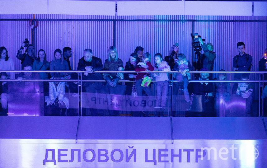 "Ледовое шоу на станции ""Деловой центр"". Фото предоставлено пресс-службой метрополитена"