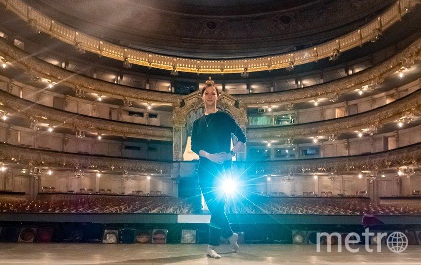 "Рената на исторической сцене Мариинского театра. Фото Алена Бобрович, ""Metro"""
