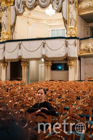 """Рената в зале Мариинского театра. Фото Алена Бобрович, """"Metro"""""""