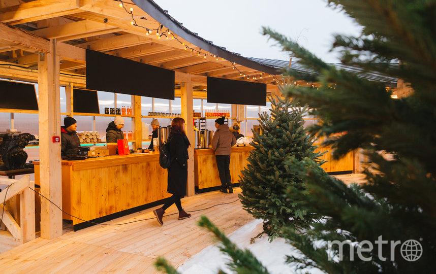 """В парк """"Зарядье"""" завезли снег. Фото предоставлено пресс-службой парка , """"Metro"""""""