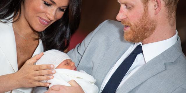 6 мая 2019 года у Меган Маркл и принца Гарри родился сын Арчи.