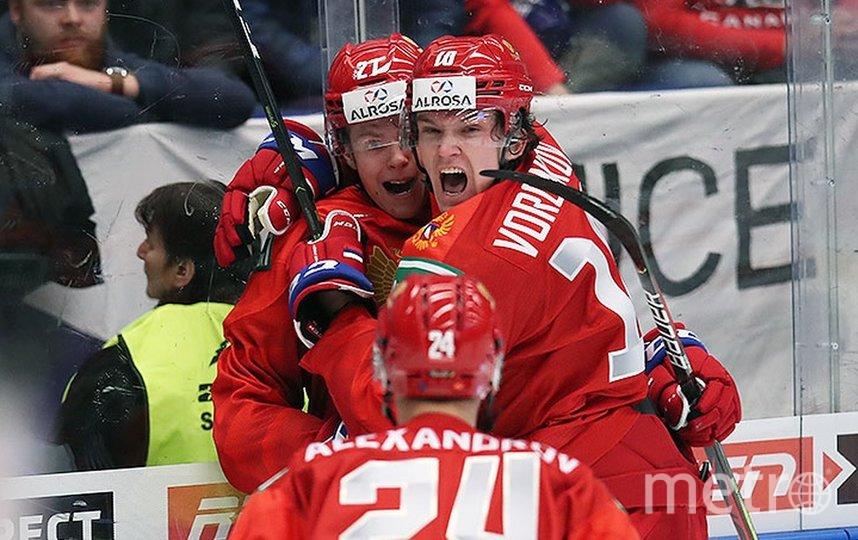 Российская молодёжка разгромила канадцев на чемпионате мира по хоккею. Фото Скриншот @russiahockey