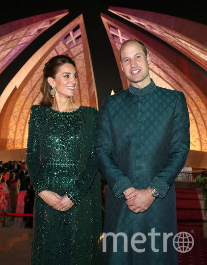 Кейт Миддлтон и принц Уильям в Пакистане. Фото Getty