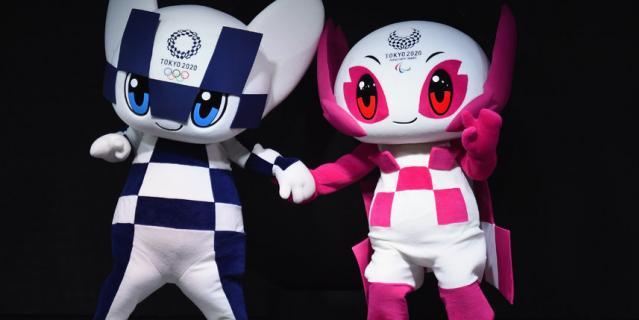 Символы Олимпиады в Токио-2020.