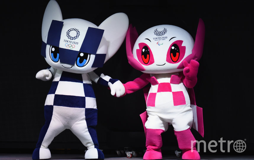 Символы Олимпиады в Токио-2020. Фото Getty