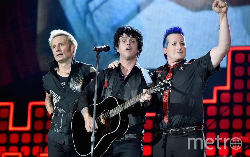 Green Day. Фото Getty
