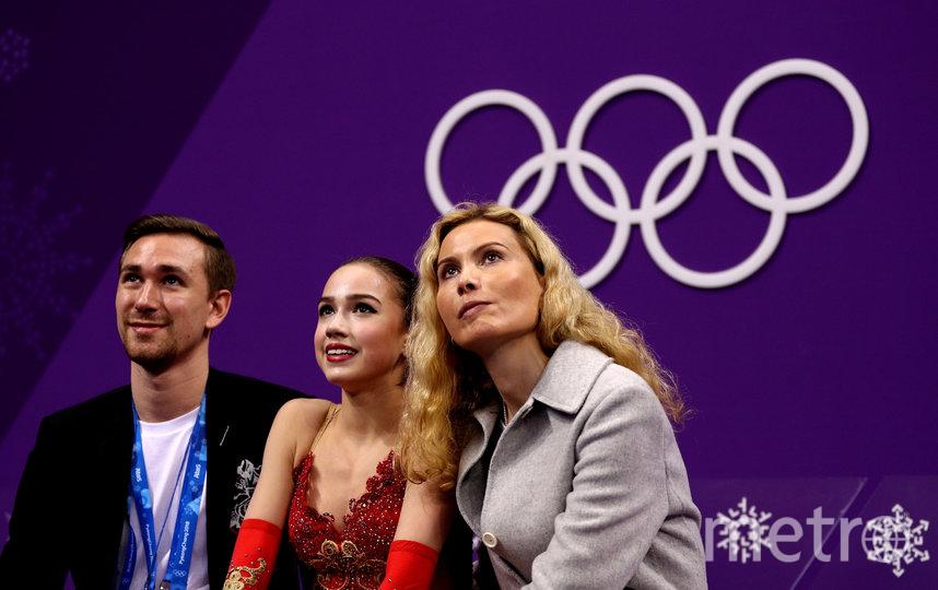 Этери Тутберидзе (справа). Фото Getty