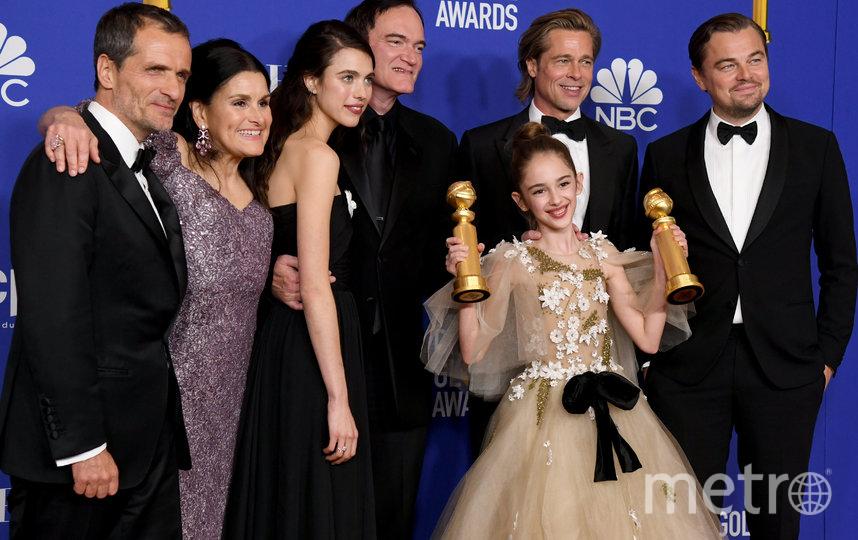"Команда фильма ""Онажды в... Голливуде. Фото Getty"