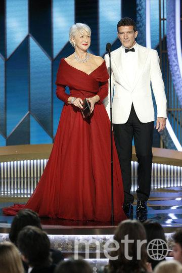 Хелен Миррен и Антонио Бандерас. Фото Getty