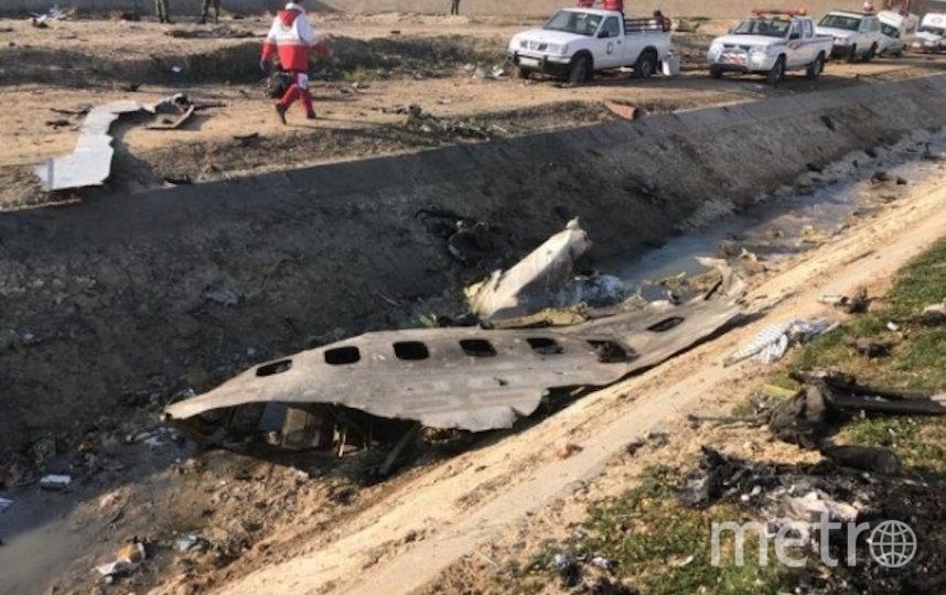 На борту самолёта находилось 176 человек. Фото РИА Новости