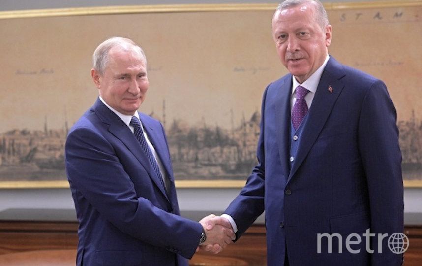 В Стамбуле состоялись переговоры Владимира Путина и Реджепа Тайипа Эрдогана. Фото РИА Новости