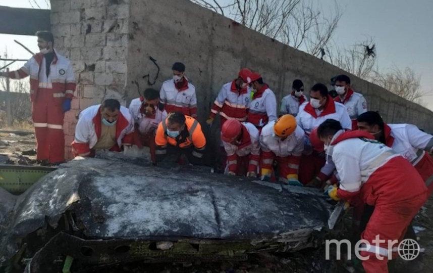 Самолёт потерпел крушение в среду утром. Фото РИА Новости