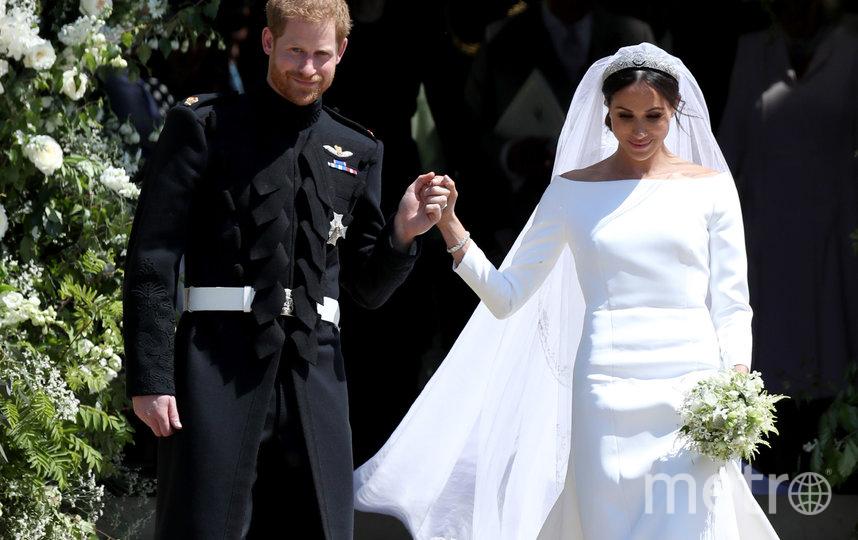 Свадьба Меган Маркл и принца Гарри состоялась 19 мая 2018 года. Фото Getty