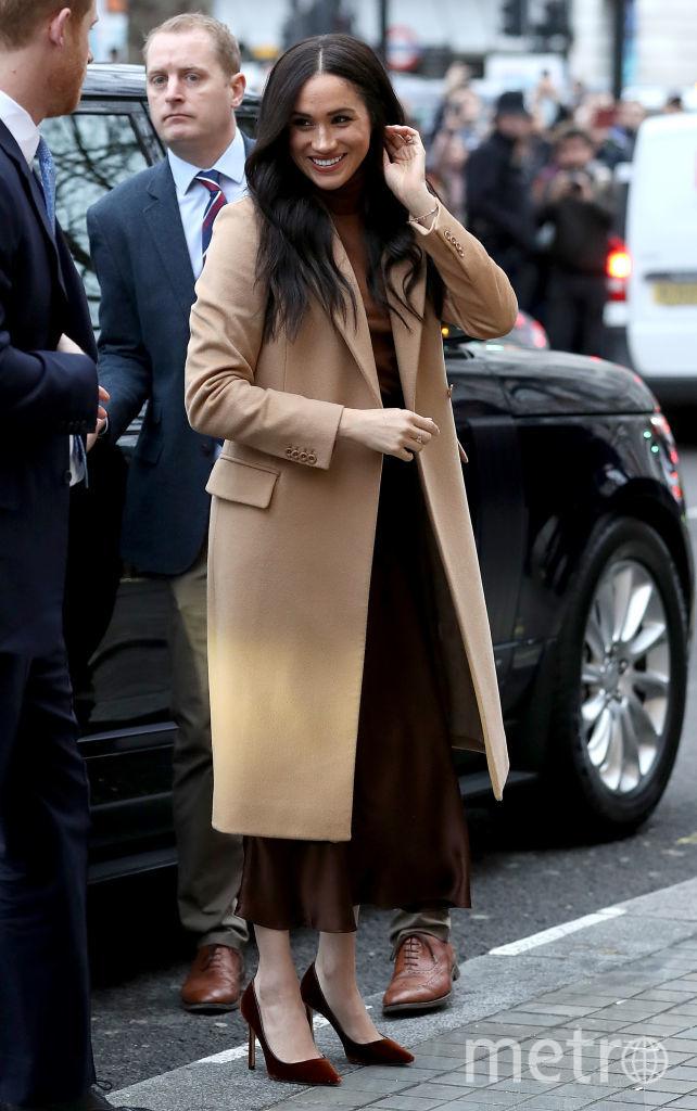 Гарри и Меган посетили Канадский дом в центре Лондона 7 января. Фото Getty