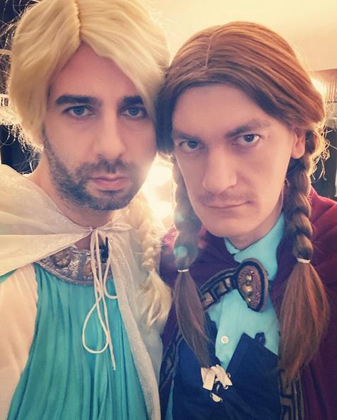 Иван Ургант и Александр Гудков. Фото скриншот: instagram.com/urgantcom/