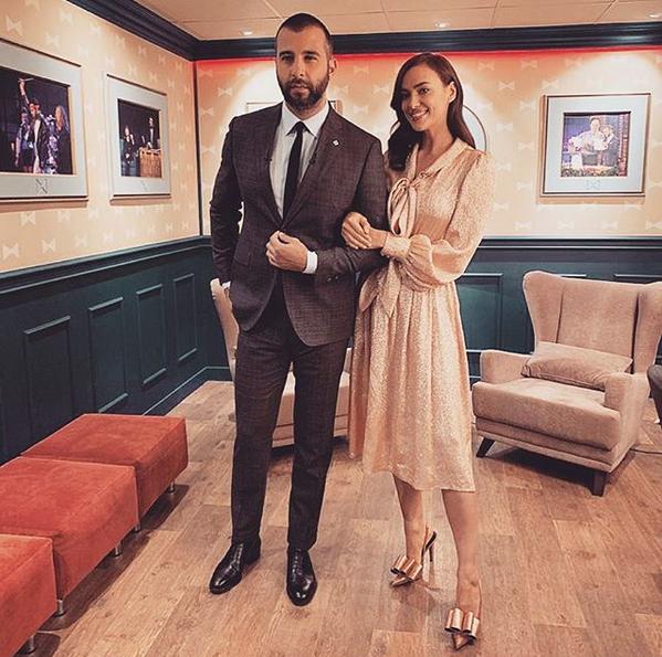 Иван Ургант и Ирина Шейк. Фото скриншот: instagram.com/urgantcom/