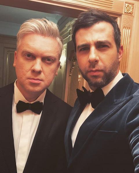 Иван Ургант и Сергей Светлаков. Фото скриншот: instagram.com/urgantcom/