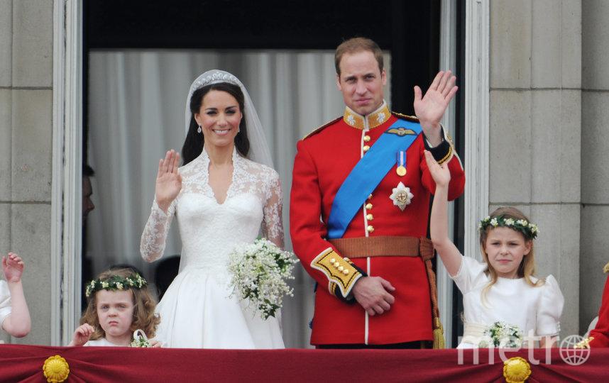 Свадьба с принцем в 2011 году. Фото Getty