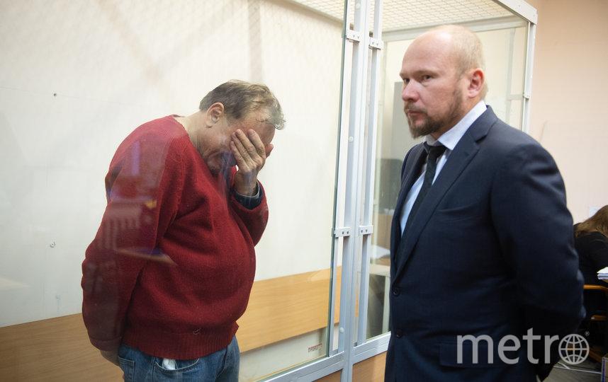 """Олег Соколов в зале суда 11 ноября 2019 года. Фото Архивное фото, """"Metro"""""""