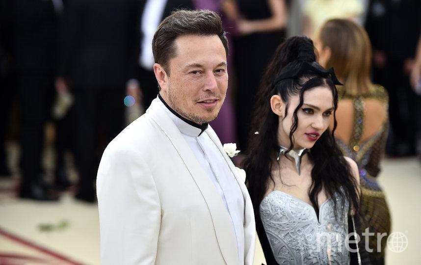 Илон Маск и певица Граймс на Met Gala-2018 в Нью-Йорке. Фото Getty