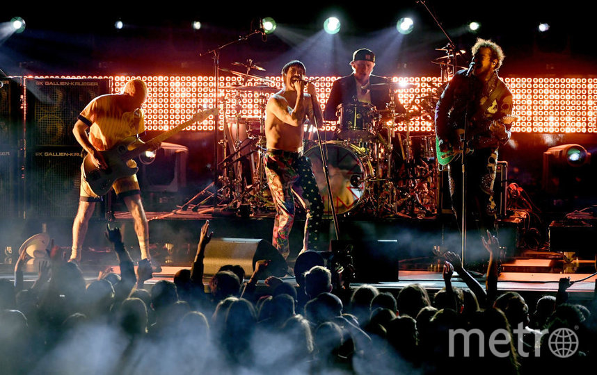 Red Hot Chili Peppers. Фото Getty