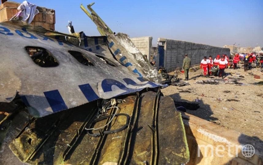 На борту разбившегося Boeing 737 было 176 человек. Фото РИА Новости