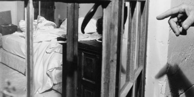 Дом Мэрилин Монро после обнаружения тела актрисы.