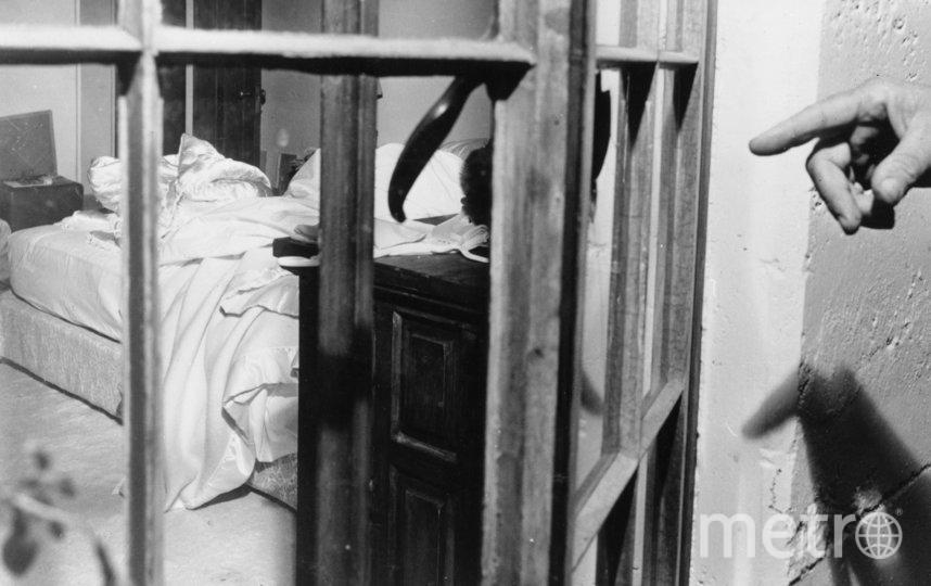 Дом Мэрилин Монро после обнаружения тела актрисы. Фото Getty
