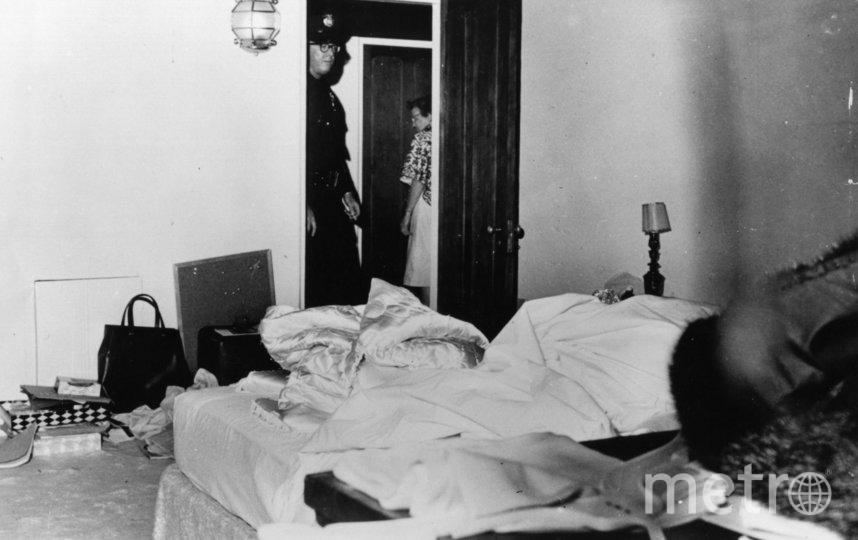 Ккомната Мэрилин Монро в день смерти. Фото Getty