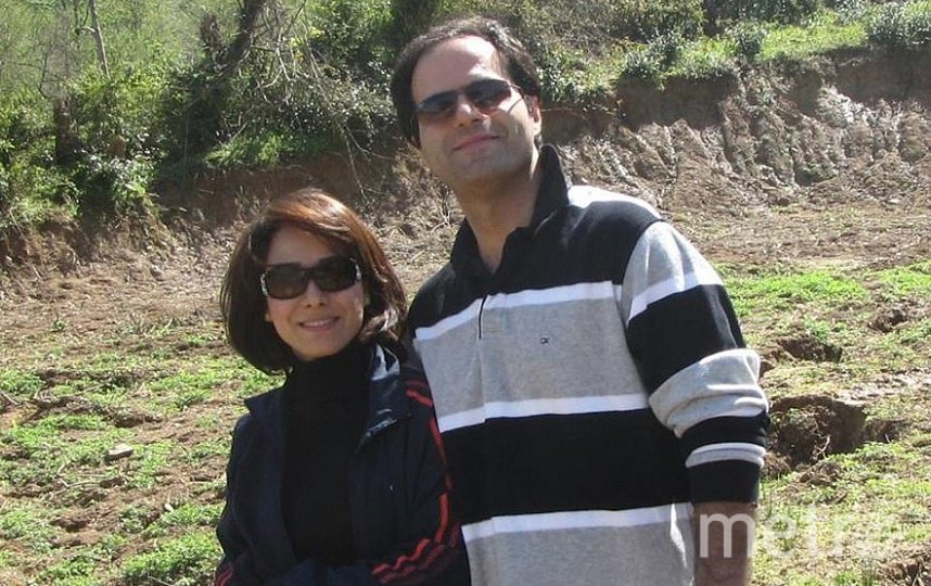 Мохсен Ахмадипур и Роджия Азадиа. Фото соцсети