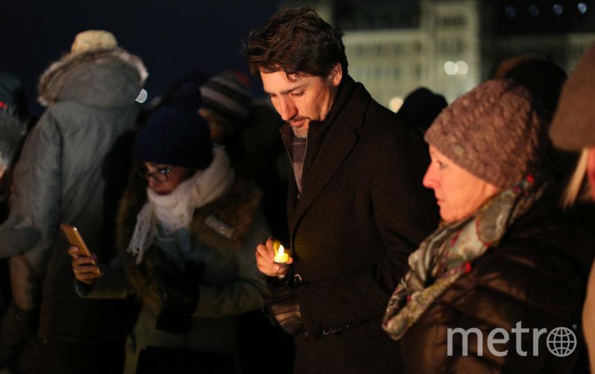 В Оттаве скорбят по погибшим. На фото - премьер-министр Канады Джастин Трюдо. Фото Getty