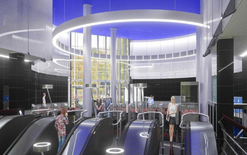 """Станция """"Электрозаводская"""", проектное решение. Фото www.mos.ru, """"Metro"""""""