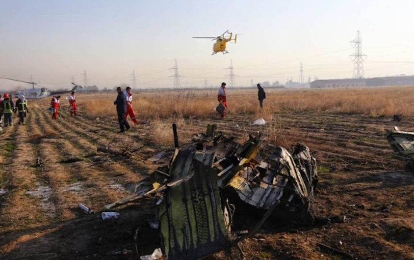 Представители вооруженных сил Ирана признали, что украинский боинг с пассажирами на борту был сбит случайно. Фото РИА Новости