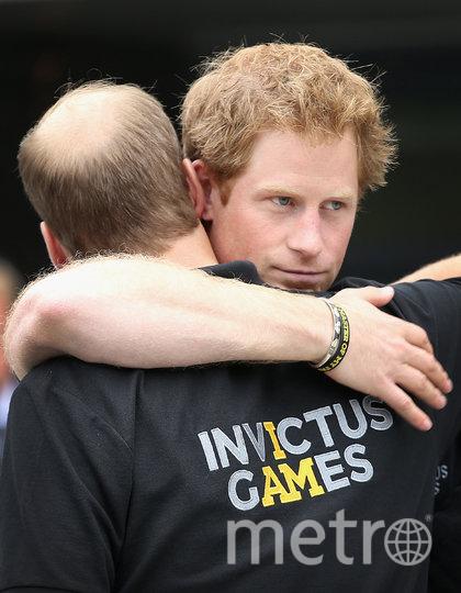 Принц Гарри и принц Уильям. Архивное фото. Фото Getty