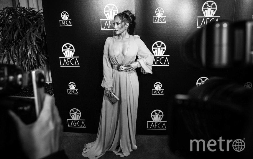 Дженнифер Лопес на LA Film Critics Awards - 2020, фотоархив. Фото Getty