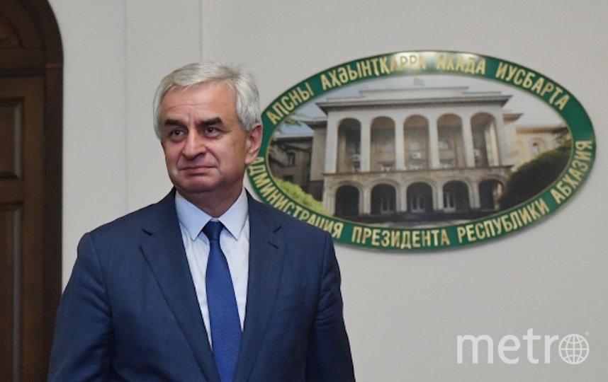 Рауль Хаджимба. Фото РИА Новости