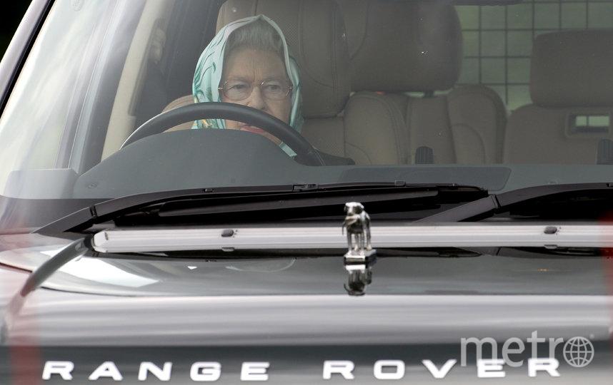 Королева Елизавета II за рулём. Архивное фото. Фото Getty