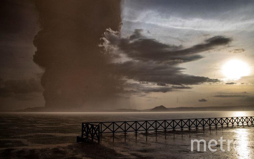 На Филиппинах началось извержение вулкана Тааль. Фото Getty